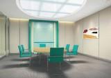 中国农业银行系统家具 客戶洽谈桌会议桌 装修设计 装修效果图设计