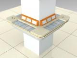 农村信用社家具 装修家具 围柱式填单台