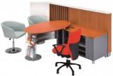 中国银行系统家具 中行系统家具 木制开放式柜台