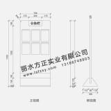 中国农业发展银行 农发行立式公告栏 银行标识 厂家标识定制